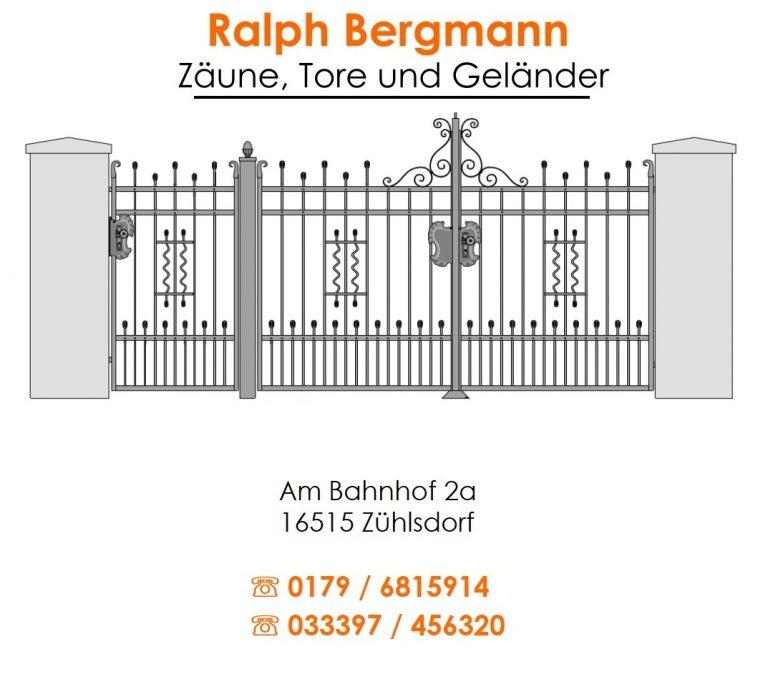 Ralph Bergmann Zaun | Berlin Metallbauer, Brandenburg Metallbauer